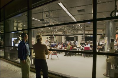 An Open Concept Lab Building Design Ten Years Later