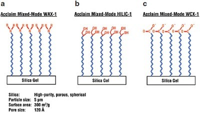A Weak Cation Exchange Reversed Phase Mixed Mode Hplc